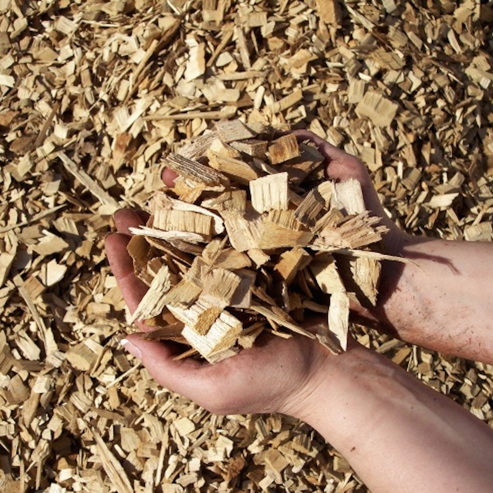 Wood chips mulch tree tamers inc